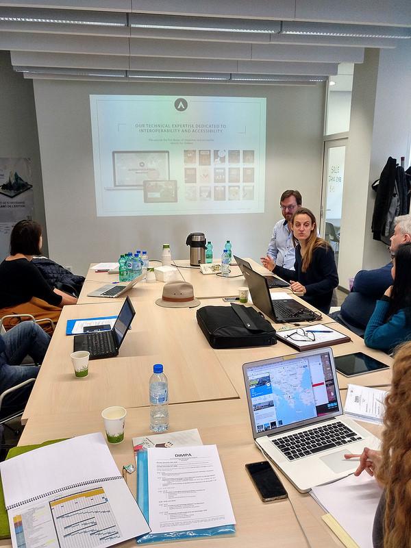 Εναρκτήρια εταιρική συνάντηση στο Παρίσι, 27-28 Νοεμβρίου 2018