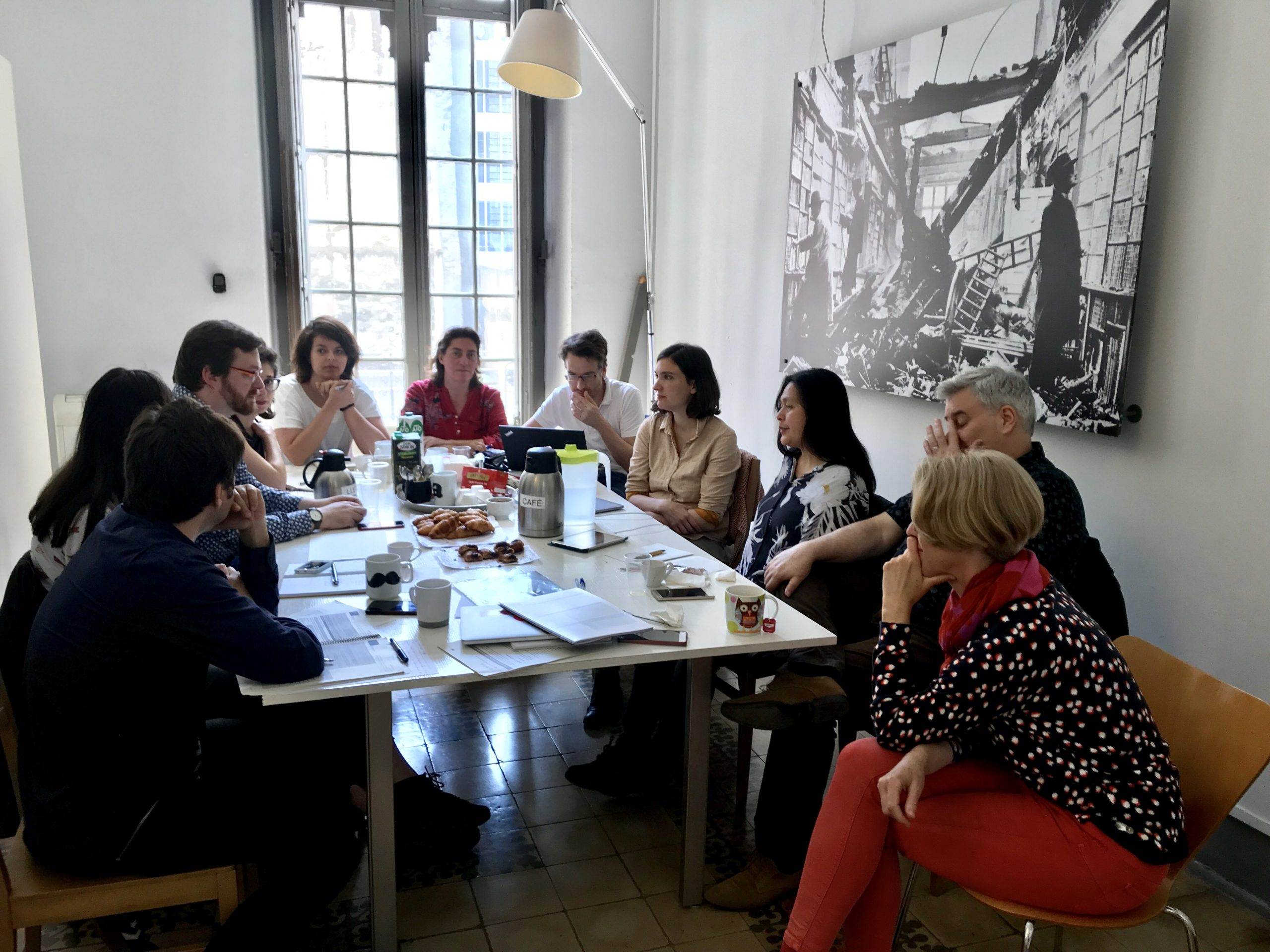 #DIMPAproject meeting in Barcelona
