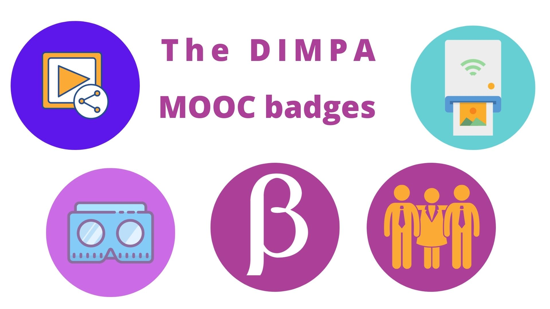 DIMPA Experience Webinar - The MOOC Badges